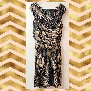 Lauren Ralph Lauren Wild Animal Print Dress